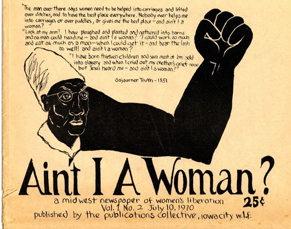 """sojourner truth aint i a woman (1851) sojourner truth """"ar'nt i a woman one of the most unique and interesting speeches of the convention was made by sojourner's truth, an emancipated slave."""